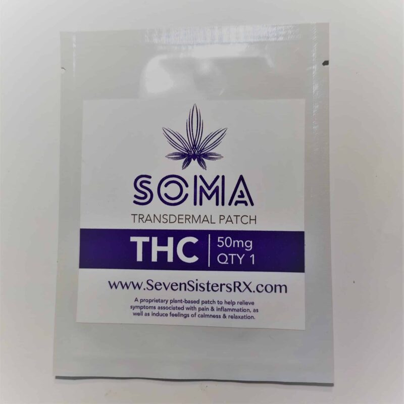 50 mg THC Soma Transdermal Patch